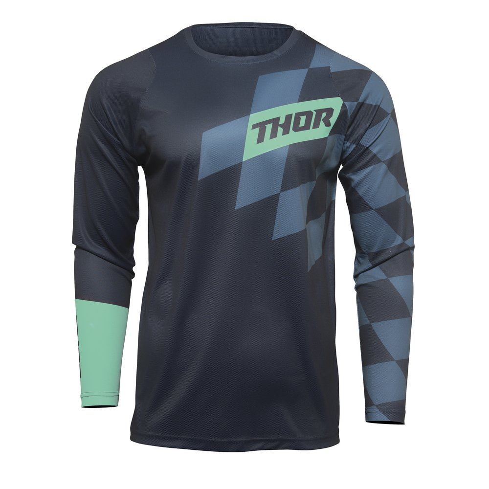 THOR Sector Birdrock Motocross Jersey midnight mint