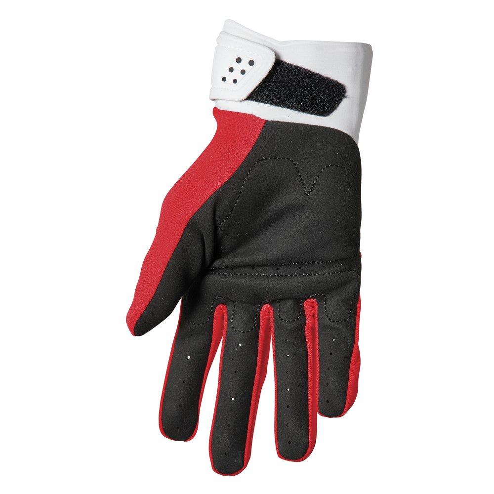 THOR Spectrum Motocross Handschuhe rot weiss