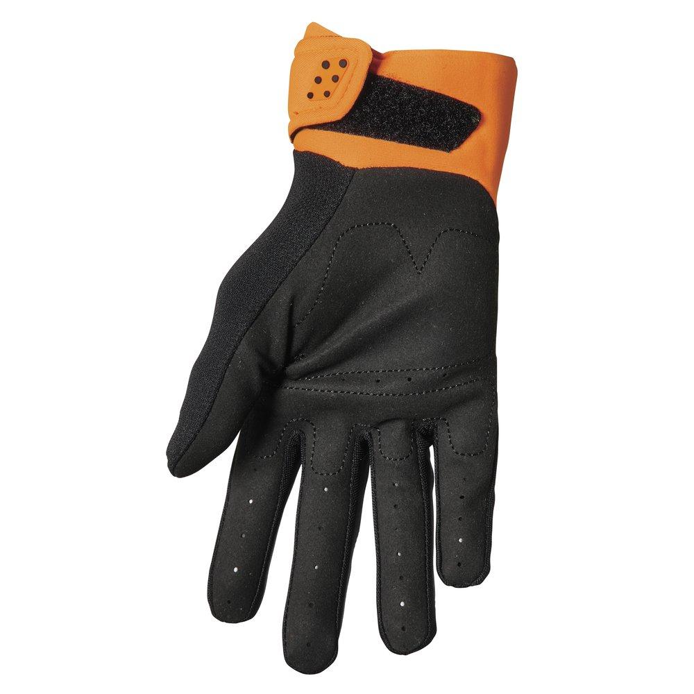THOR Spectrum Motocross Handschuhe orange schwarz