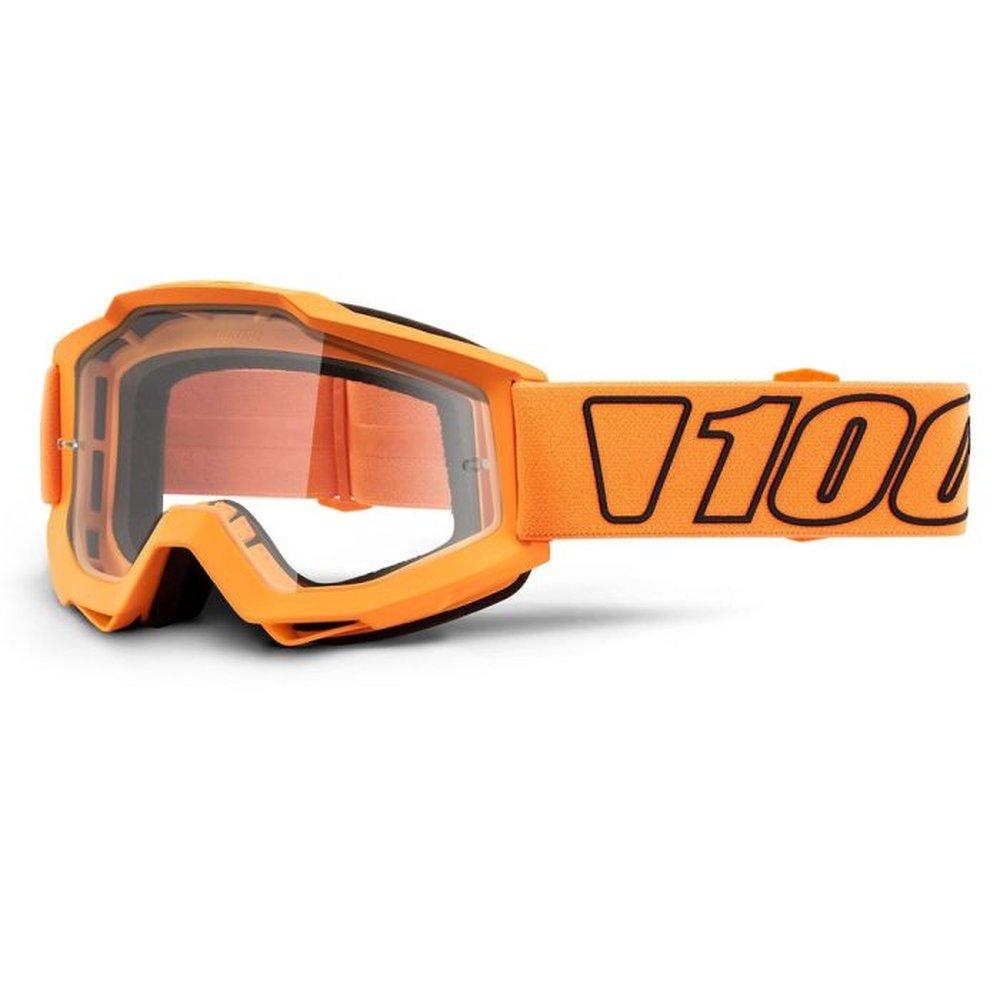 100% Accuri Luminari MX MTB Brille  klar