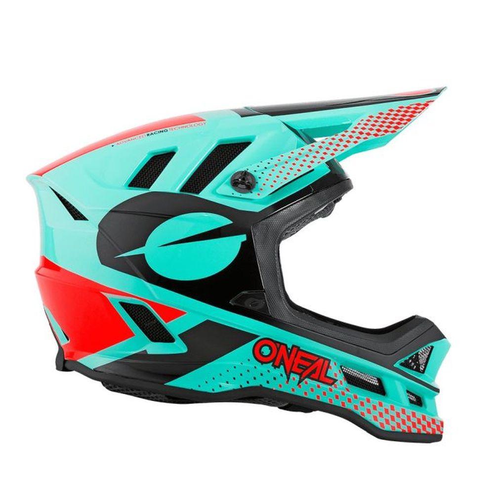 ONEAL Blade Ace MTB Helm mint orange schwarz