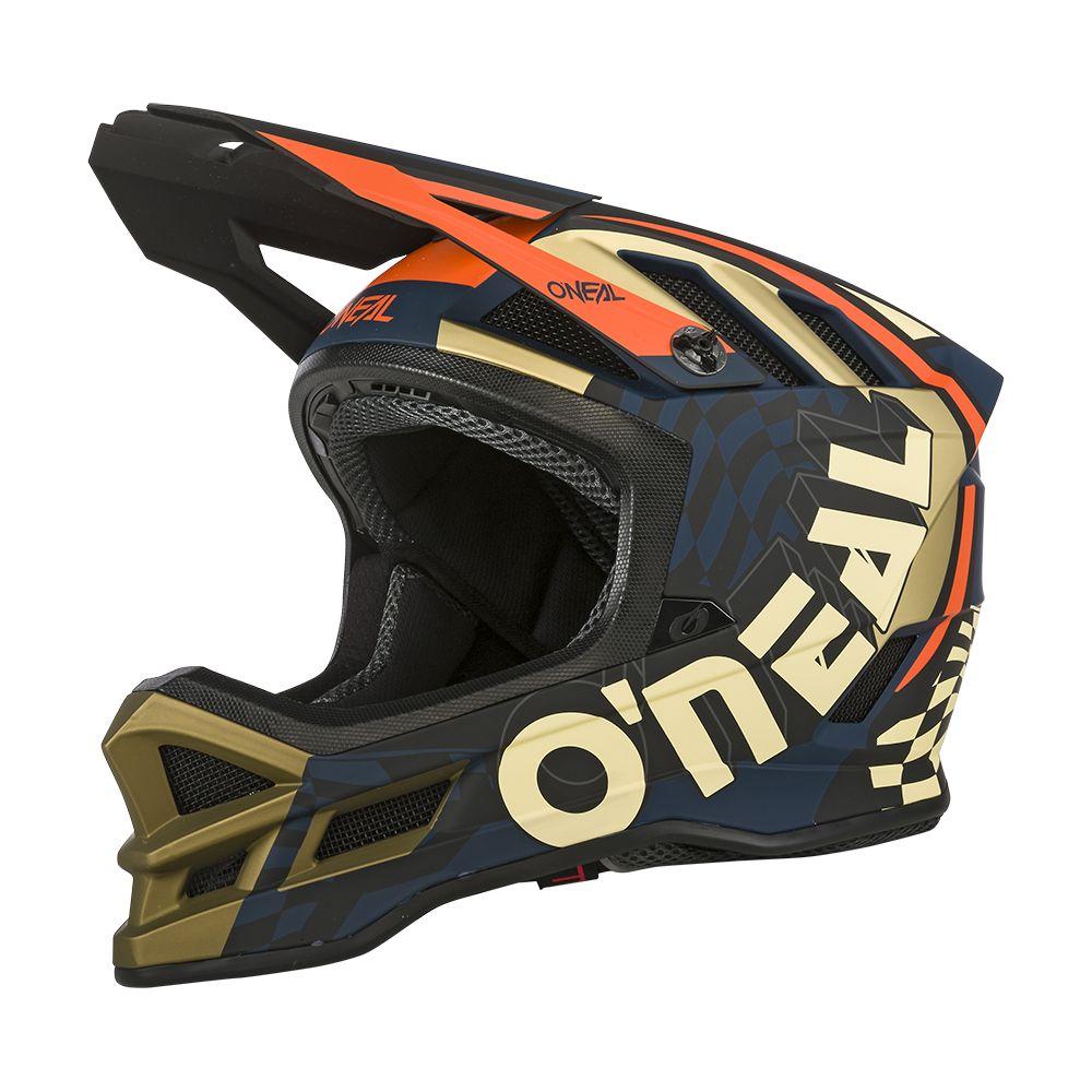 ONEAL Blade Polyacrylite ZYPHR MTB Helm blau orange