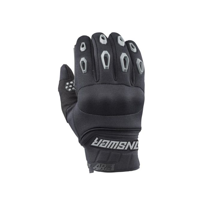 ANSWER AR5 Mud Pro Motocross Handschuhe schwarz