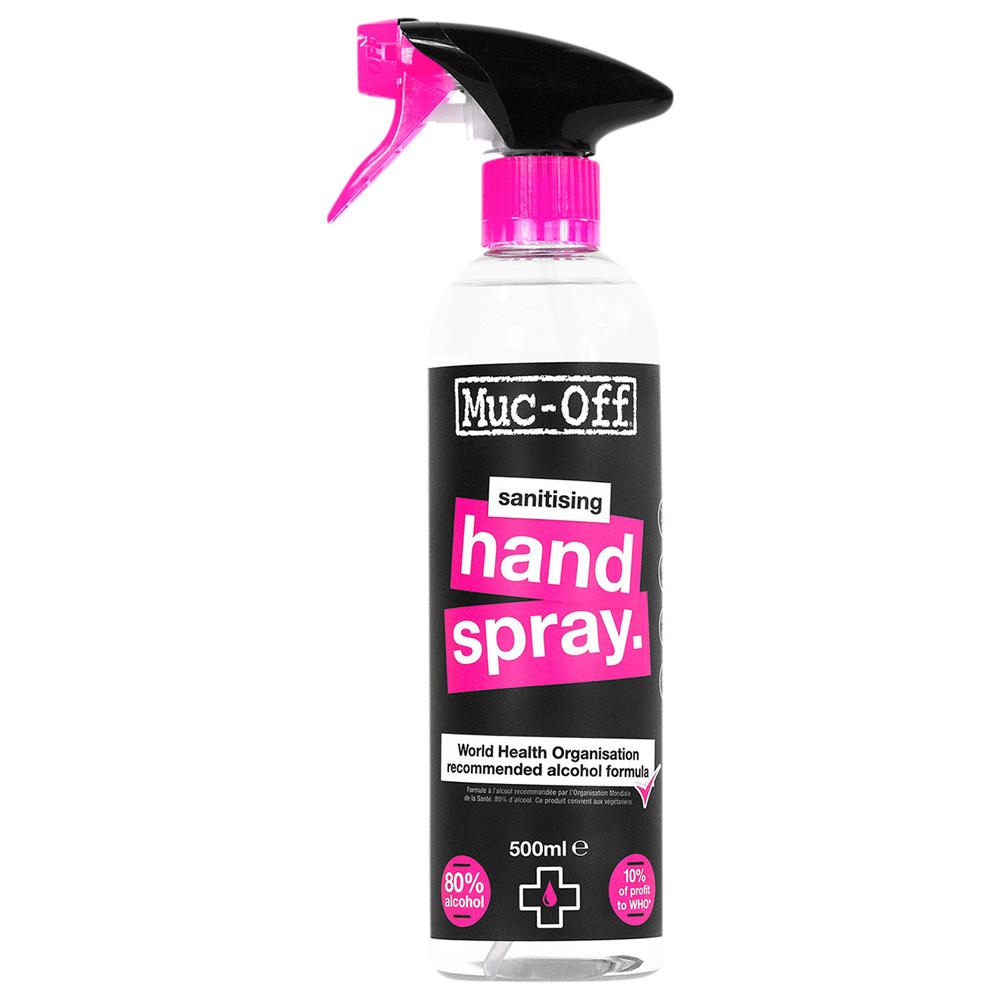 MUC-OFF Antibacterial Sanitising Hand Srpay Desinfektionsmittel 500ml