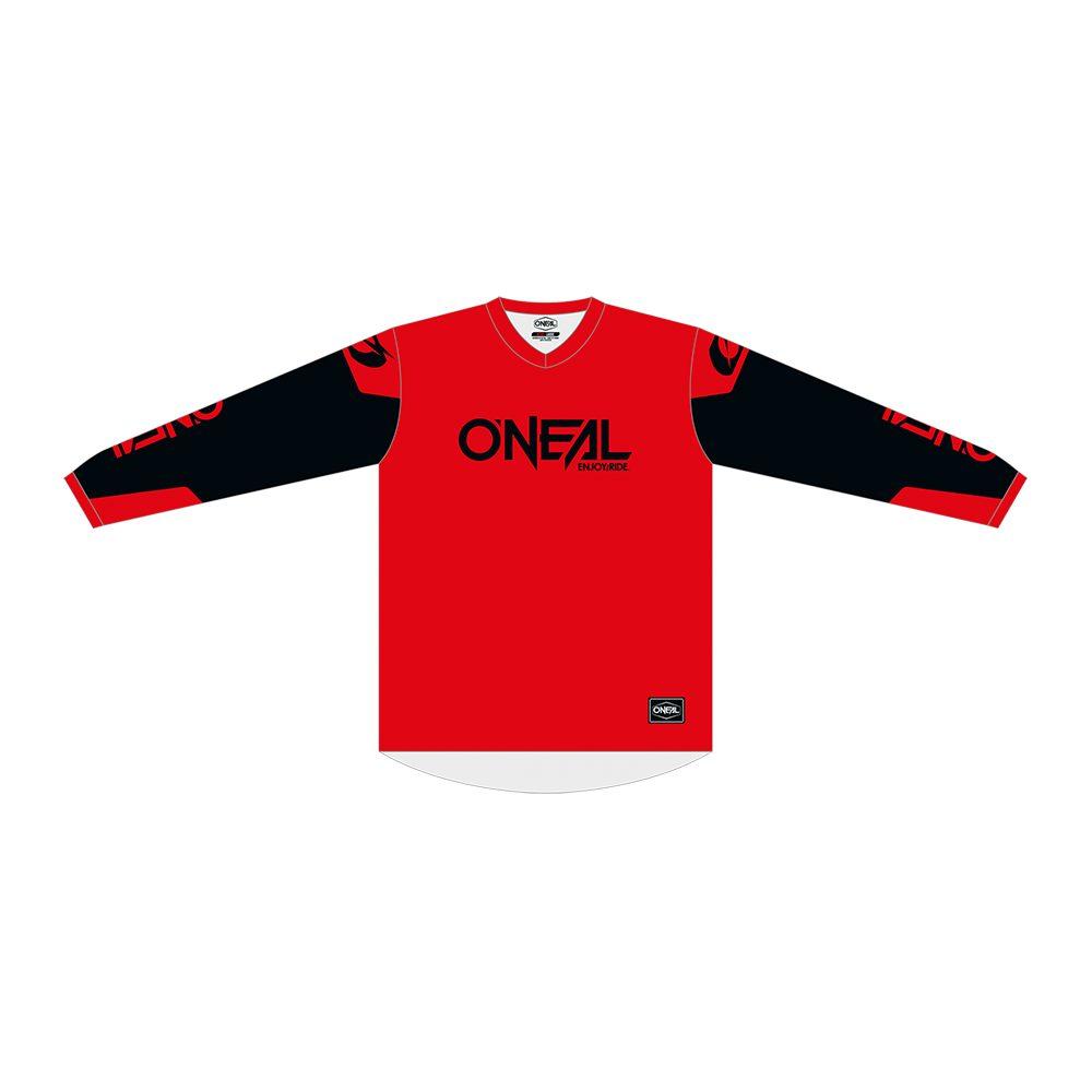 ONEAL Element Threat MX Jersey rot schwarz