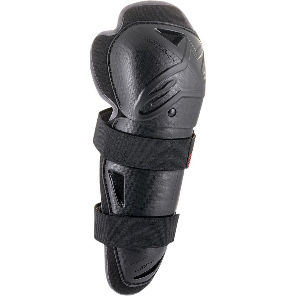 ALPINESTARS Bionic Action Motocross Knie Protektoren schwarz