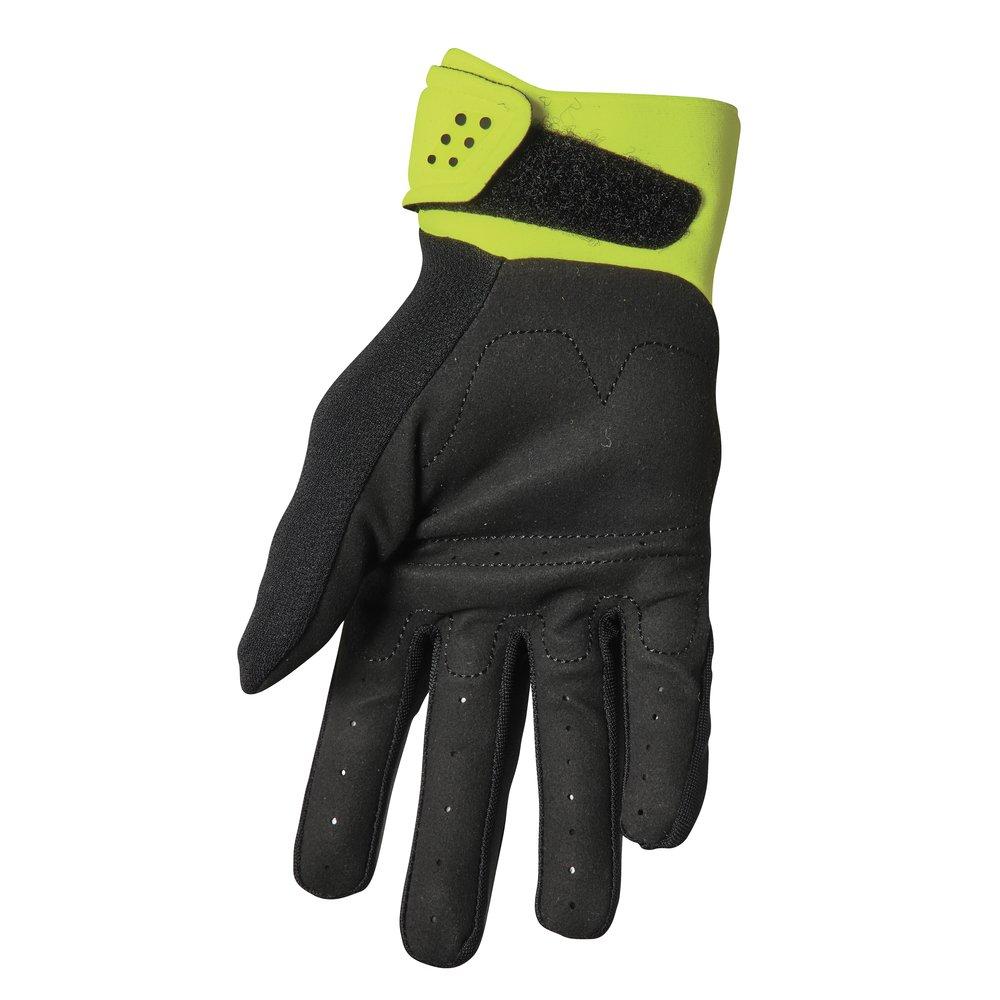 THOR Spectrum Youth Kinder Motocross Handschuhe schwarz gelb