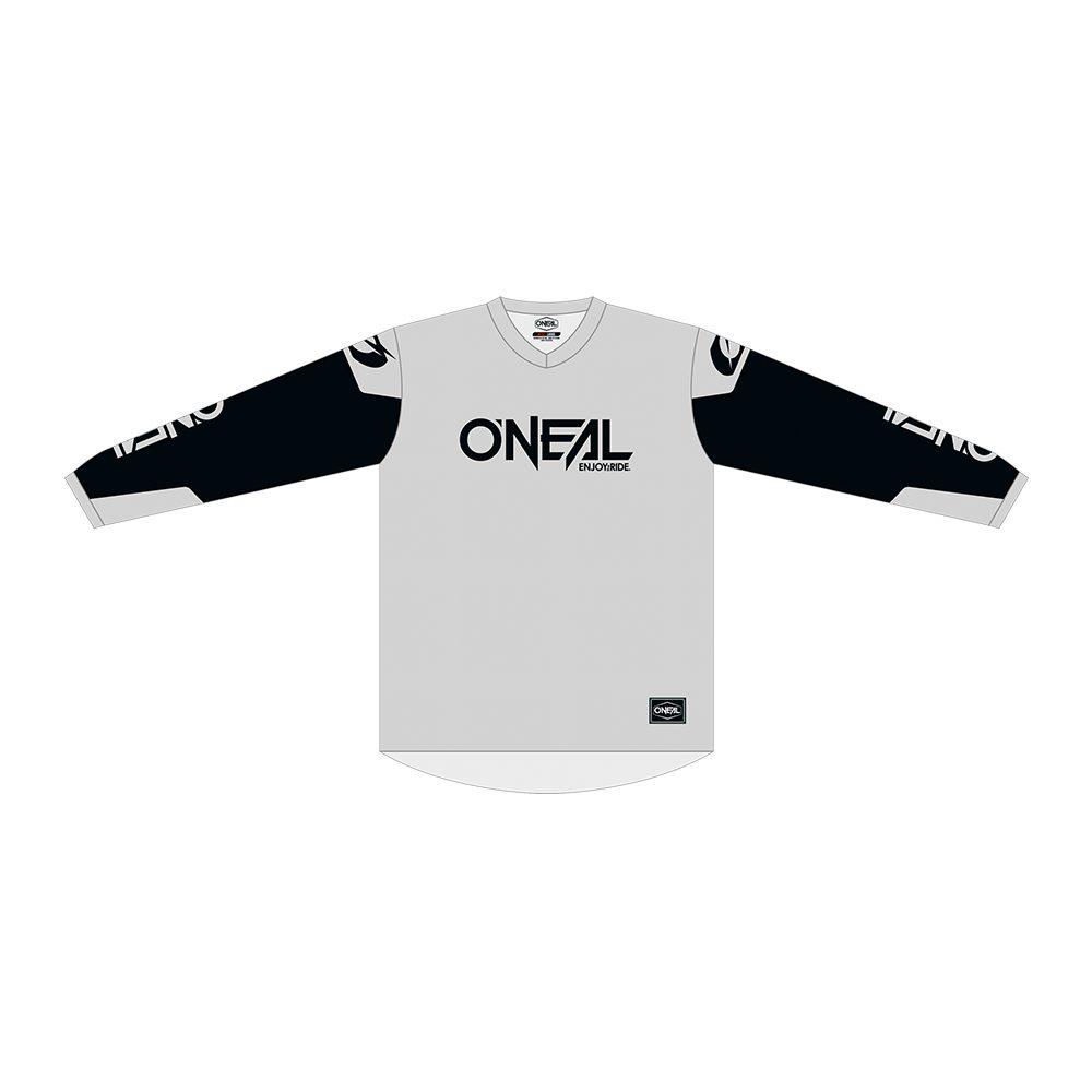 ONEAL Element Threat MX Jersey grau schwarz