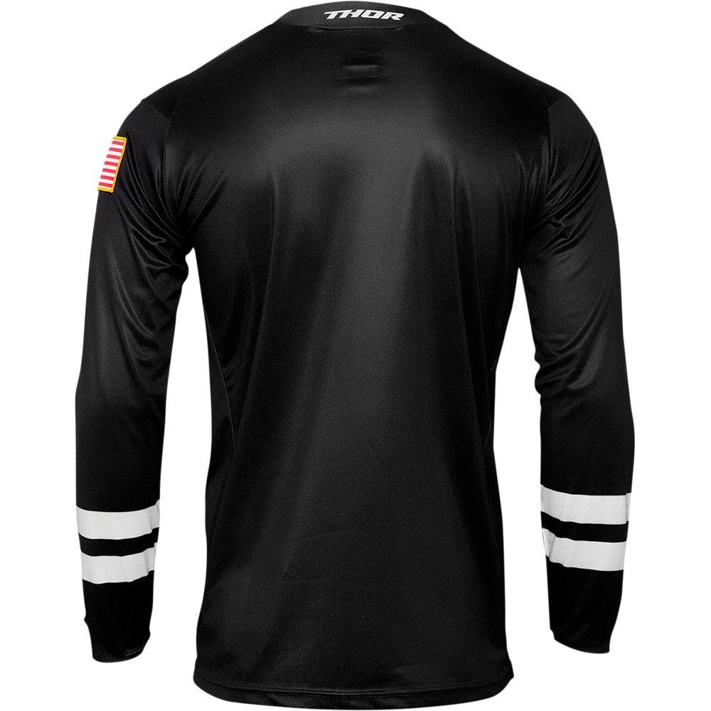 THOR Hallman Hopetown Motocross Jersey schwarz
