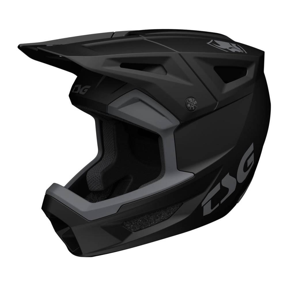 TSG Sentinel Solid Color MTB Helm schwarz