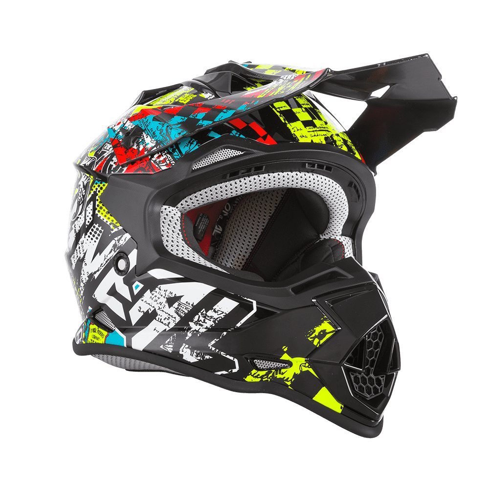 ONEAL 2SRS Youth Wild MX Kinder Helm multi
