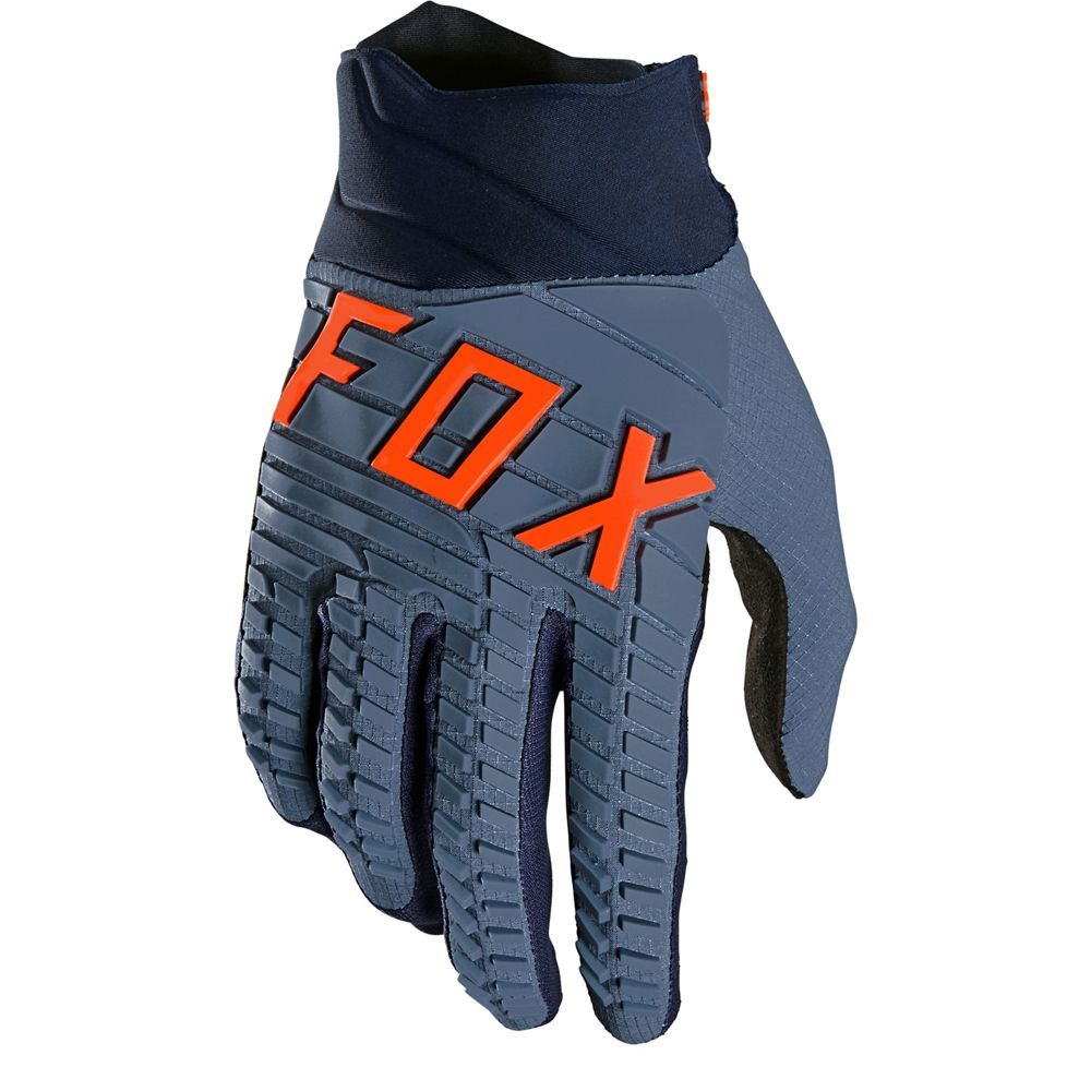 FOX 360 MX MTB Handschuhe steel blau
