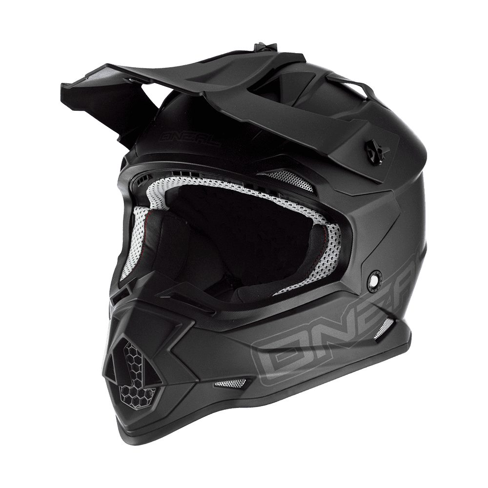 ONEAL 2RS Flat MX Helm schwarz