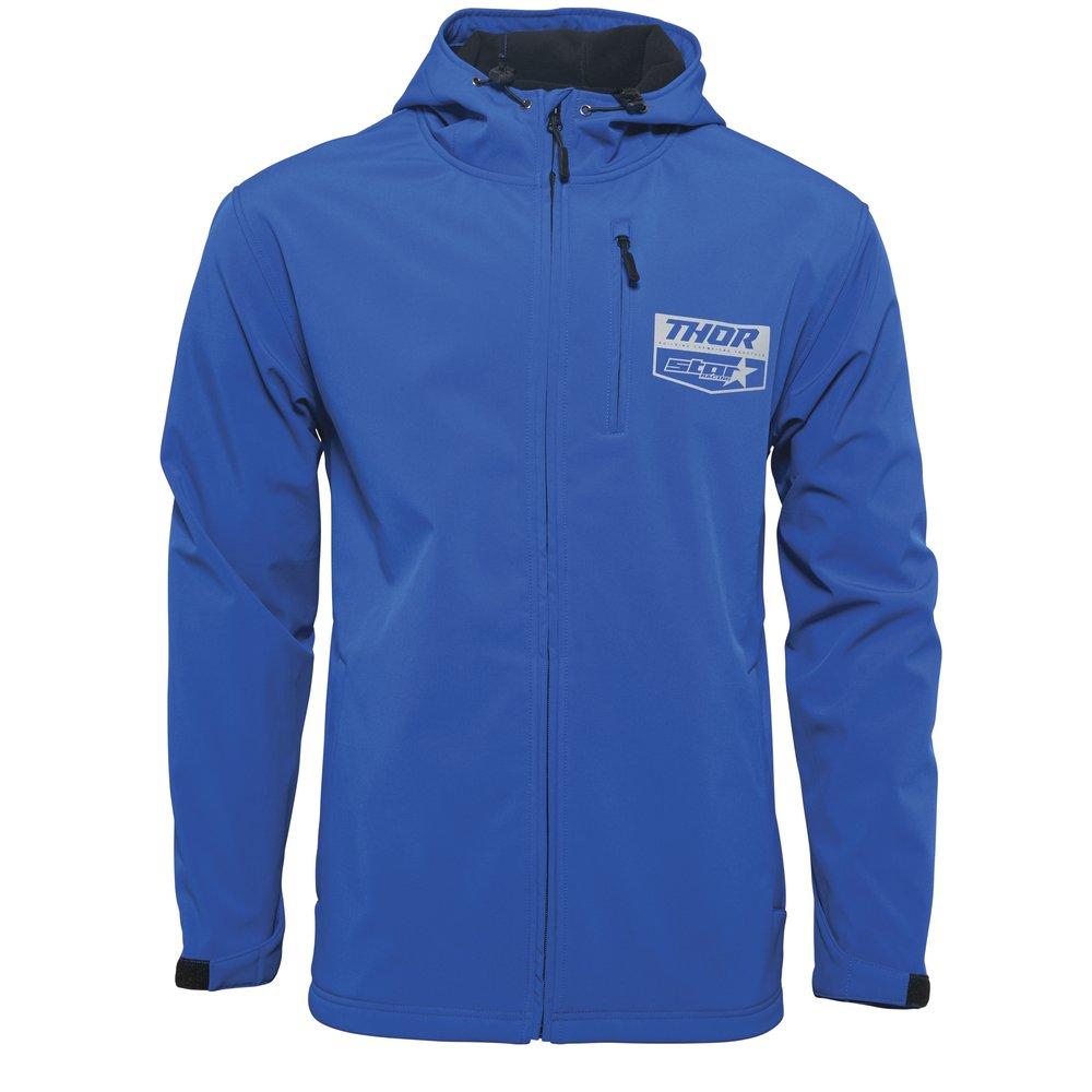 THOR Yamaha Star Softshell Jacke blau