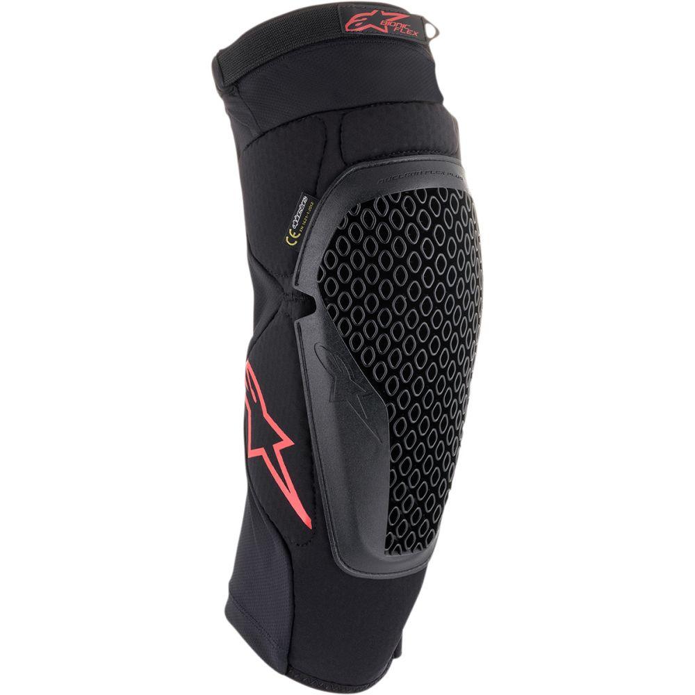 ALPINESTARS Bionic Flex MX MTB Knieprotektoren schwarz rot