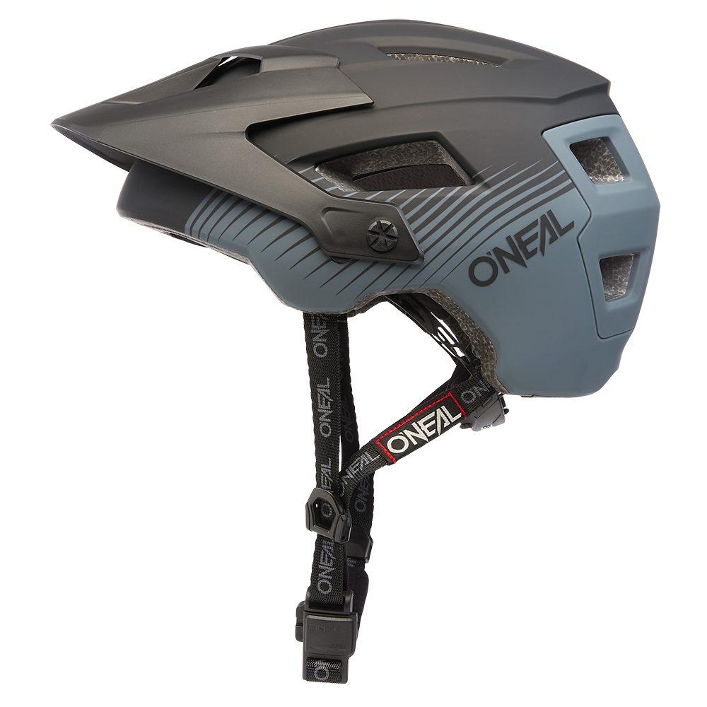 ONEAL Defender Grill V.22 MTB Helm schwarz grau