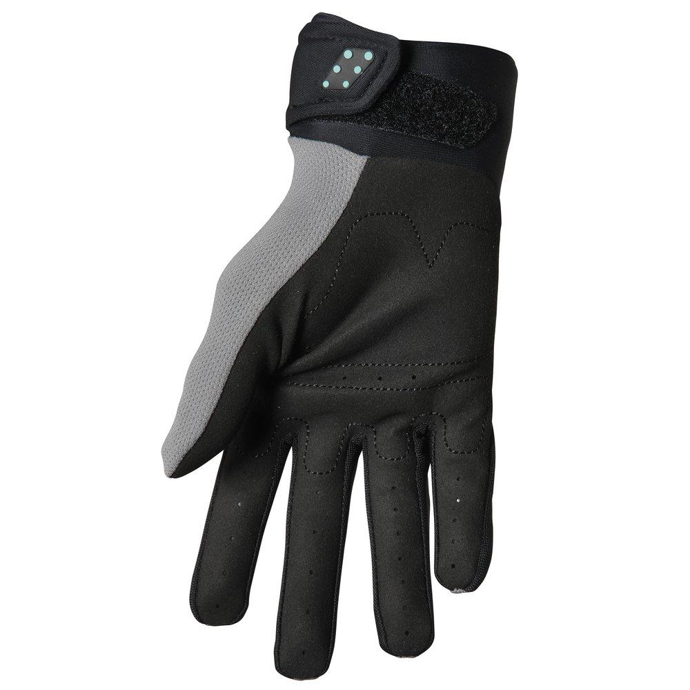 THOR Spectrum Youth Kinder Motocross Handschuhe grau schwarz mint