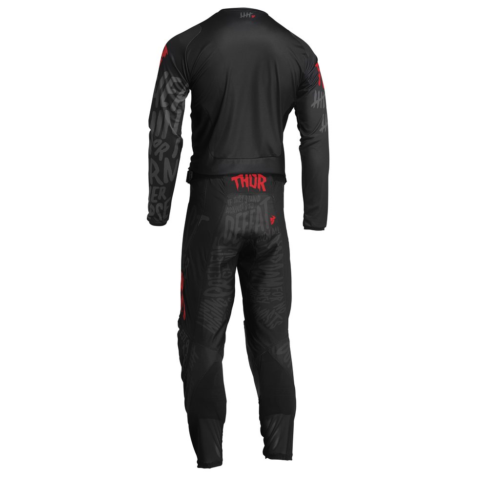 THOR Pulse CNTSHP Motocross Jersey schwarz rot