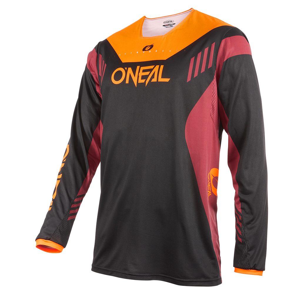 ONEAL Element FR Hybrid V.22 MTB Jersey schwarz rot orange