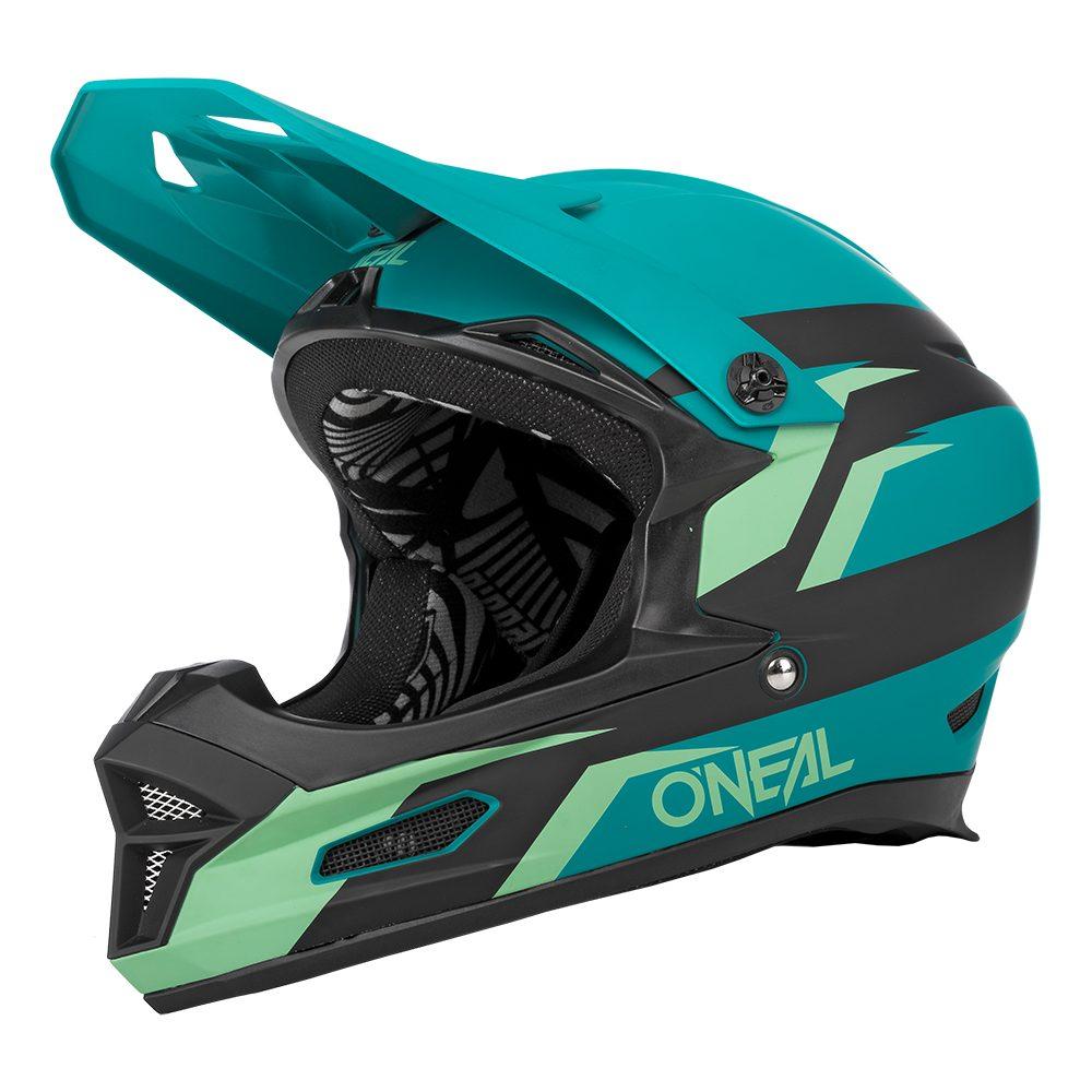 ONEAL Fury Stage V.22 MTB Helm schwarz grün