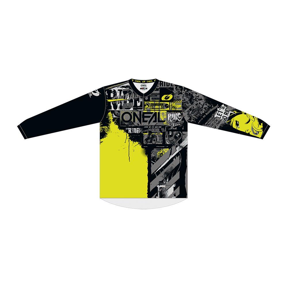 ONEAL Element Ride MX Jersey schwarz gelb